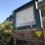 East Walker Ranch Trail Sign Santa Clarita Open Space