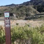 East Walker Ranch Trail Sign Santa Clarita Open Space