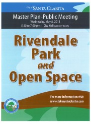 Master Plan Rivendale Park & Open Space